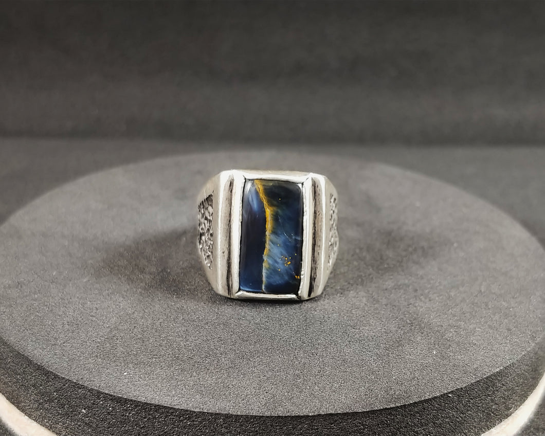 Pietersite Men's Ring