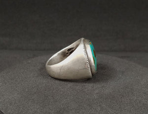 Royston Turquoise Silver Ring