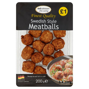 4. Delicatessen Meatballs PM £1