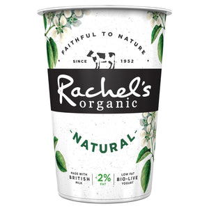 2. Rachel's Organic Natural Yogurt