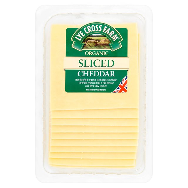 1b. Lye Cross Cheddar Organic Sliced