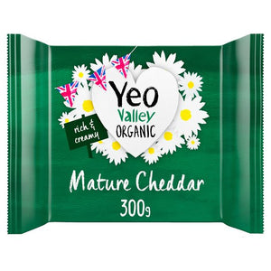 1b. Yeo Valley Organic Cheddar Cheese