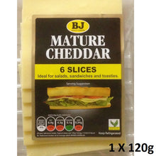 1b. BJ Cheddar Cheese Slices