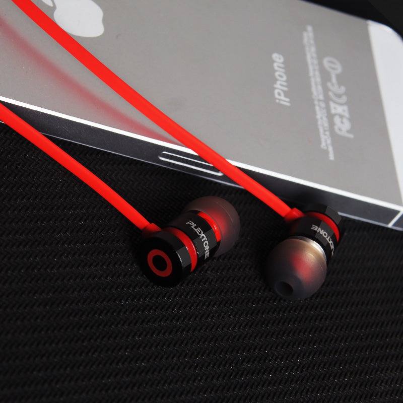 Plextone X38M in-ear headphone for mobile phone 3.5mm plug