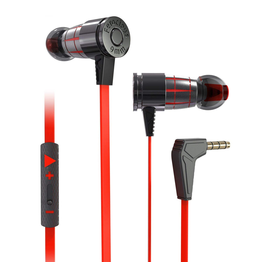 Plextone Game In Ear Headset With Mic Extension Cord 2 2m
