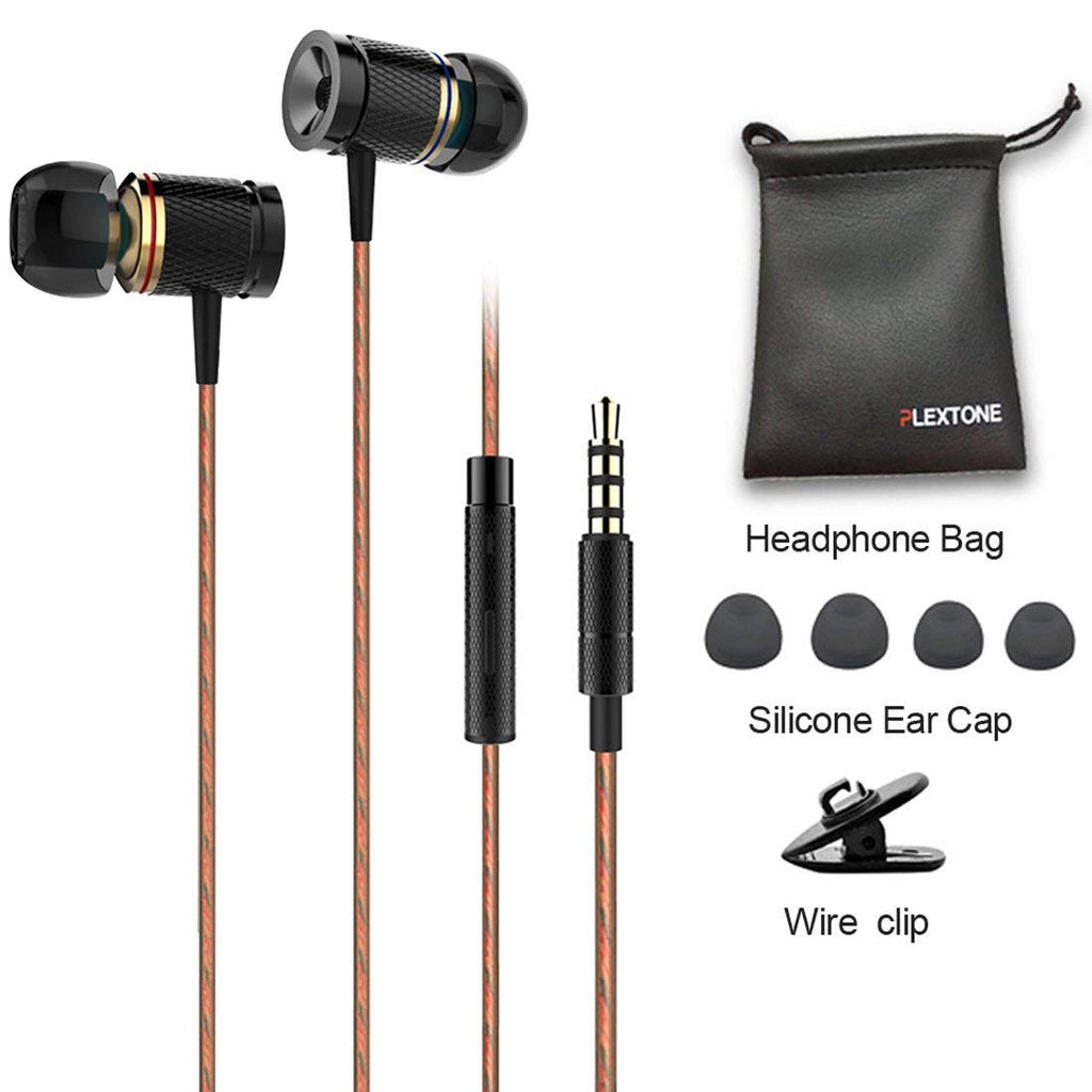 Plextone X53M richbass magnetic In-Ear Earbuds with Mic for Mobile
