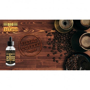 Big Boss - Filtre Coffee 30ml