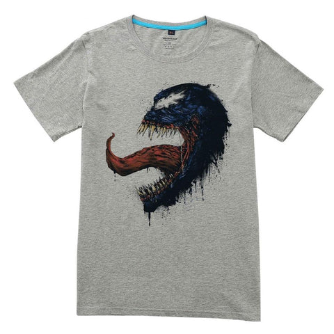 T-Shirt Venom Comics style Dessin Blanc Homme - Make It Pop - Boutique