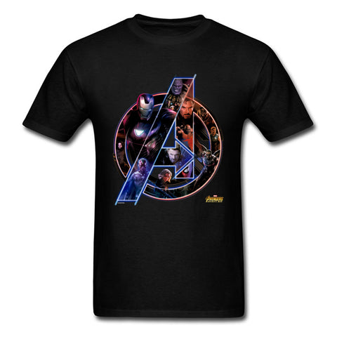 T-Shirt Avengers Infinity War Logo 3D Homme - Make It Pop - Boutique