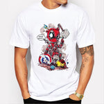T-Shirt Deadpool vs Avengers Who's Next Homme - Make It Pop - Boutique