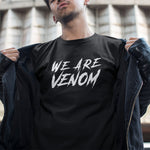 T-Shirt We Are Venom Noir et Blanc Homme - Make It Pop - Boutique