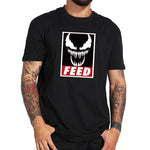 T-Shirt Venom Face Feed Noir Homme - Make It Pop - Boutique