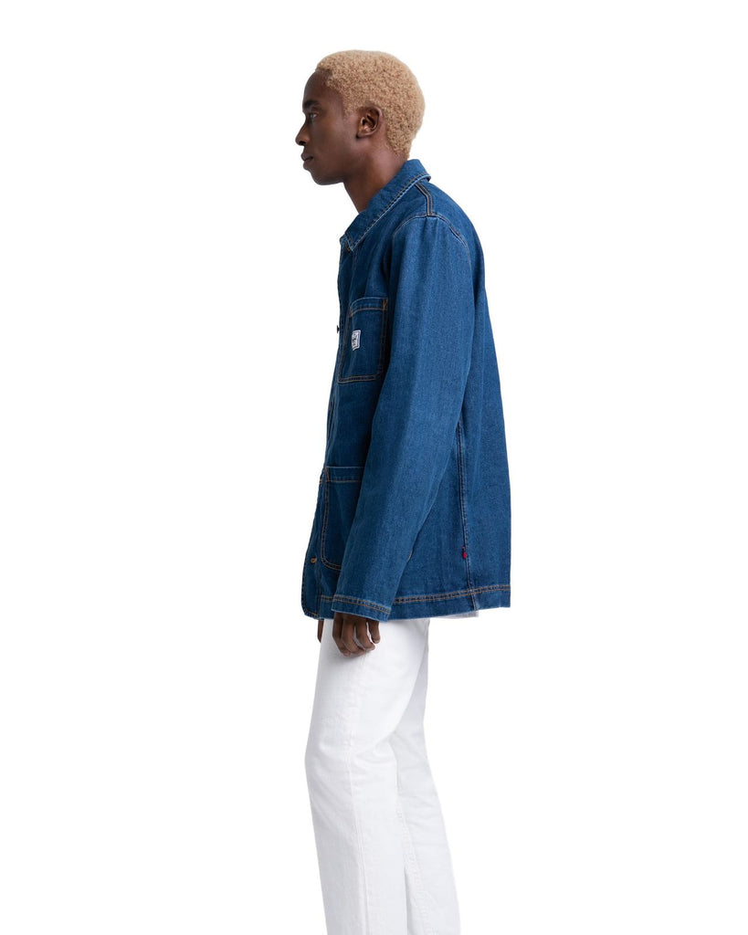 Herschel Denim Shop Jacket Mid Wash Denim