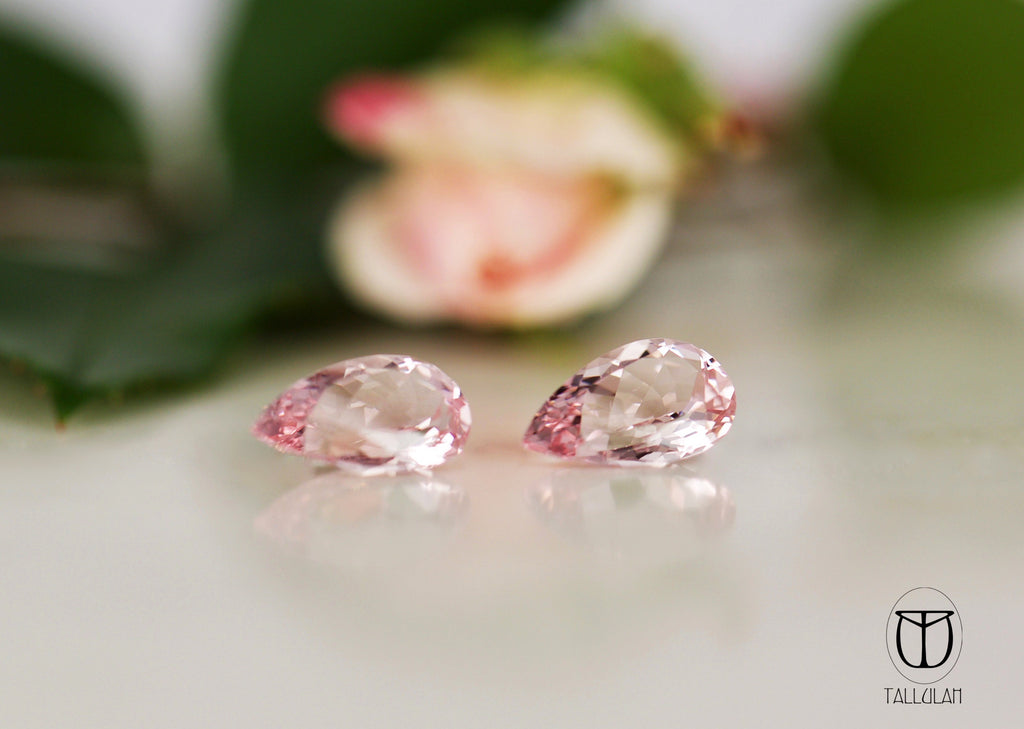 Morganite Pear