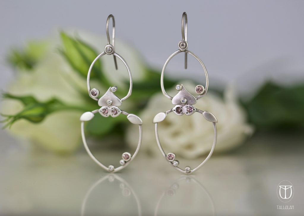 CHARLOTTE diamond earring