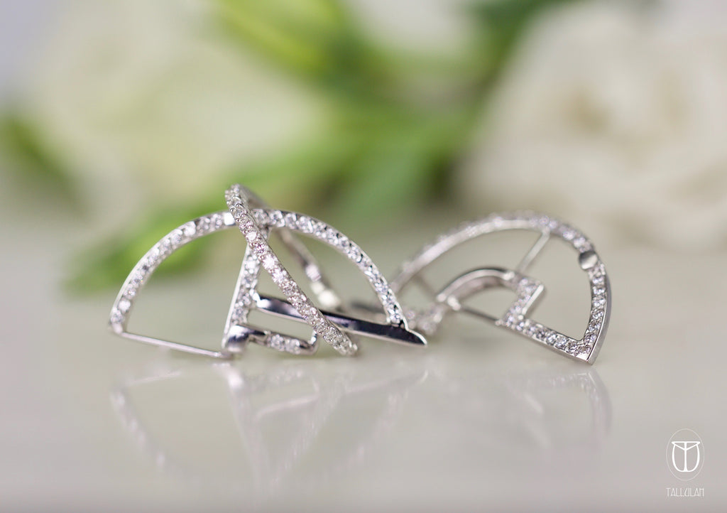 AVA diamond earring