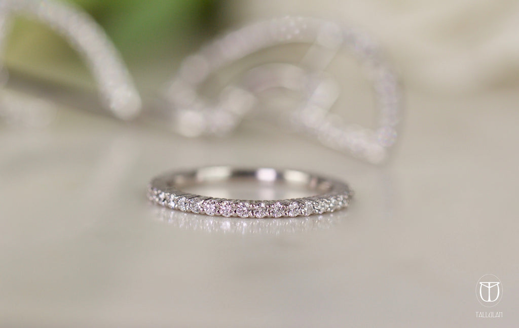 AVA diamond band Handmade