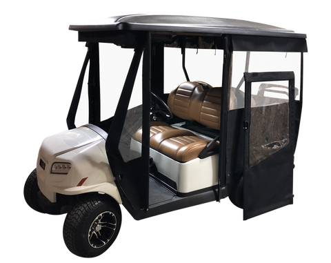 4 passenger golf cart enclosure