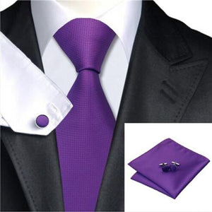 Woven Silk Necktie Avail In Multi-Colors - The Fine Man Shop