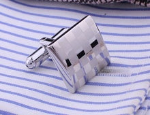Load image into Gallery viewer, Square Engraving Cufflink - The Fine Man Shop