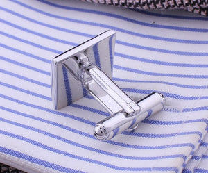 Square Engraving Cufflink - The Fine Man Shop