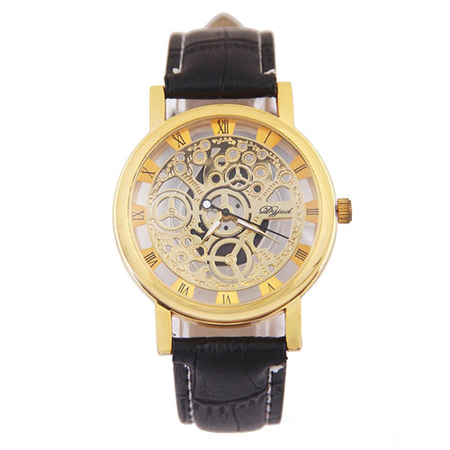 Men Mechanical Gear Watch - The Fine Man Shop