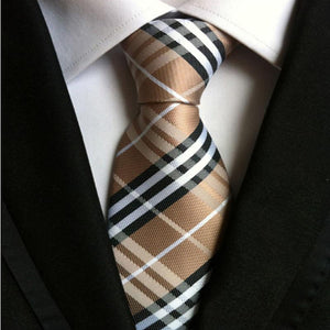 Men's Classic Jacquard Woven Business Necktie - The Fine Man Shop