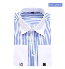 Load image into Gallery viewer, Casual French Cuff Dress Shirt - The Fine Man Shop