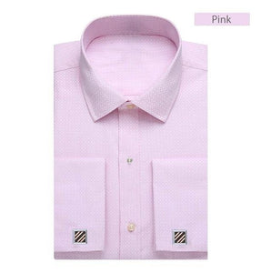 Casual French Cuff Dress Shirt - The Fine Man Shop