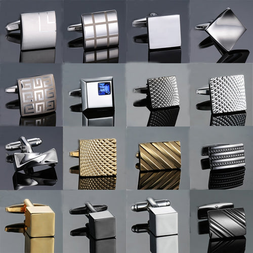 Novelty cuff links stainless steel - The Fine Man Shop