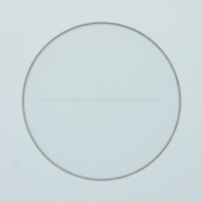 27mm Eyepiece Reticle with 20mm Horizontal Scale