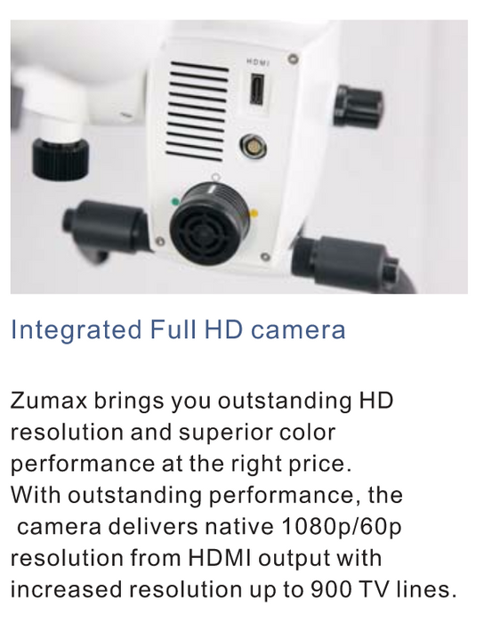 Zumax OMS2350 Advanced Dental Microscope