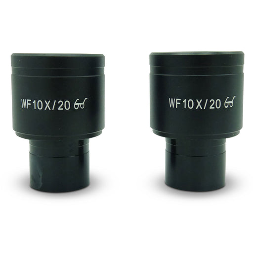 WF10X/20 High Eyepoint Eyepieces 23mm (Pair)