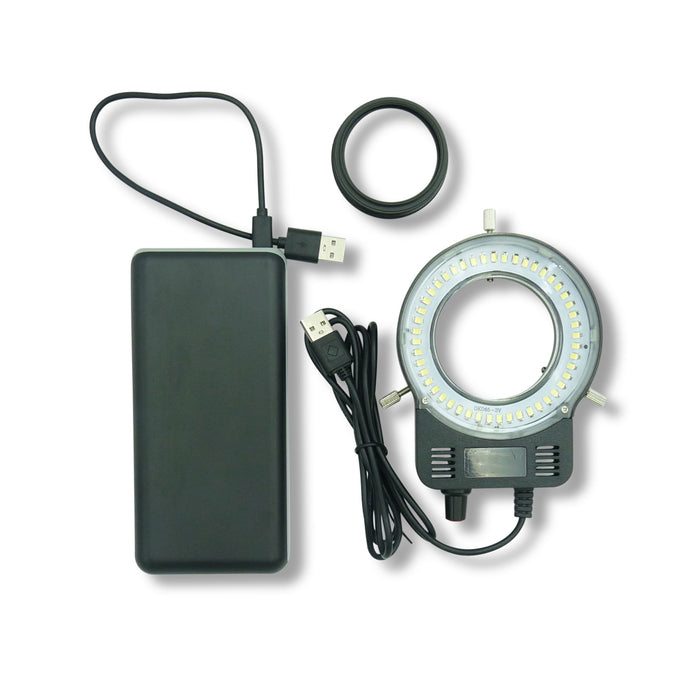 Rechargeable & Dimmable LED Ring Light