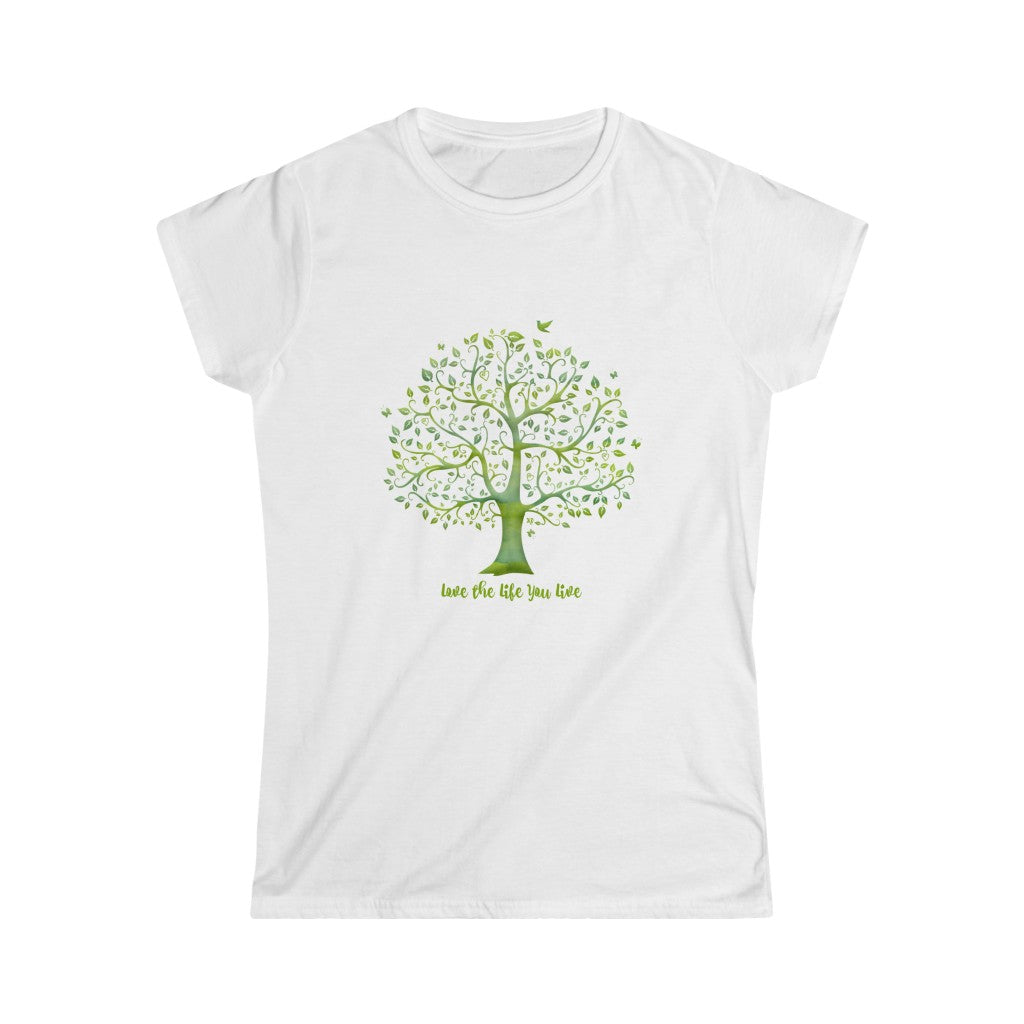 Women's Softstyle Tee - Love the Life You Live