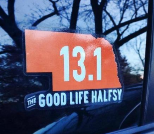 Halfsy 13.1 Vehicle Sticker