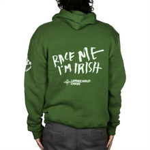 Load image into Gallery viewer, LC10K Race Me I'm Irish Hooded Sweatshirt