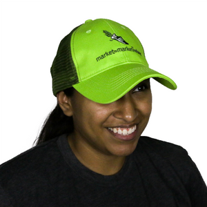 M2M 2 Tone Green Trucker Hat