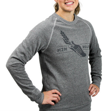 Load image into Gallery viewer, M2M Unisex Gray Crew Sweatshirt