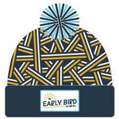 Early Bird Nest Pom Hat