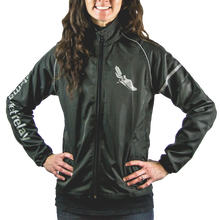Load image into Gallery viewer, Women's Market to Market Silver Logo Jacket