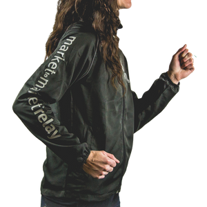 Women's Market to Market Silver Logo Jacket