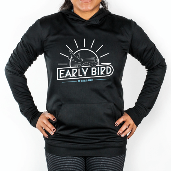 Early Bird Synthetic Run Hoodie