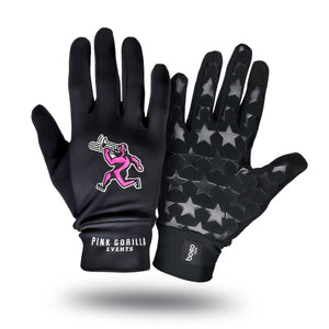 Pink Gorilla Events Run Gloves