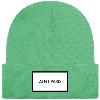 ATNT PARIS - BONNET A REVERS MINT