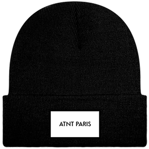 ATNT PARIS - BONNET A REVERS NOIR