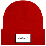ATNT PARIS - BONNET A REVERS ROUGE