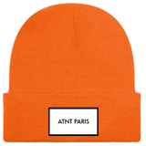 ATNT PARIS - BONNET A REVERS ORANGE FLUO
