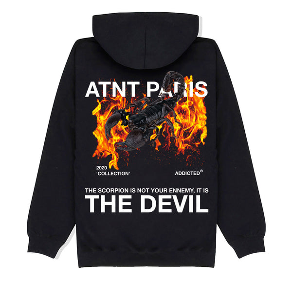 ATNT PARIS - SWEAT CAPUCHE SCORPION
