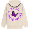 SWEAT CAPUCHE SAND BUTTERFLY